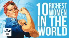 Top 10 #Richest Women In The World 2017 https://www.youtube.com/watch?v=gFRZRiUuAAs