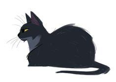 Daily Cat Drawings — 511: Papi My Papi   ❤