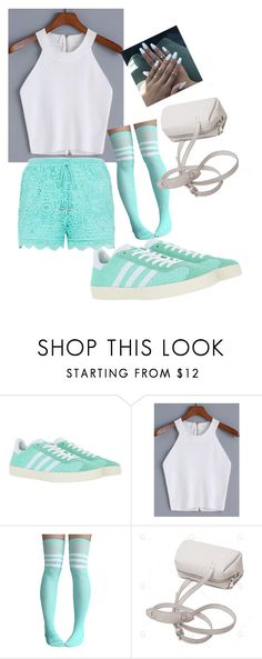"""""""Untitled #85"""" by itsayak on Polyvore featuring adidas Originals"""