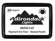 Adirondack Pigment Ink Pad, Snow Cap