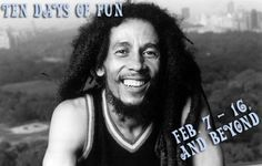 Ten day calendar of fun: Feb. 7-16, 2014  This week's events include Sol Horizon paying tribute to Bob Marley for his birthday at HopMonk in Sebastopol, CA.