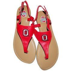 Buckeye Sandals (From EverythingBuckeyeStore.com)