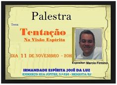Irmandade Espírita José da Luz - Mesquita – RJ - http://www.agendaespiritabrasil.com.br/2016/11/11/irmandade-espirita-jose-da-luz-mesquita-rj/