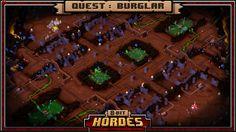 8-Bit Hordes прохождение на PC (орки-служители смерти ч.8)