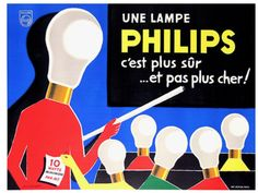 Vintage advertising posters   Philips