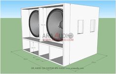 Speaker Plans, Stacked Washer Dryer, Audiophile, Home Appliances, Box, Mixer, Loudspeaker, Woodworking Projects, Crates