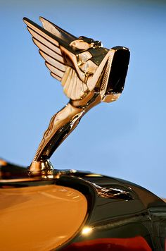 1931 Cord L-29 LeGrande Speedster Hood Ornament 5 - Jill Reger - Photographic prints for sale