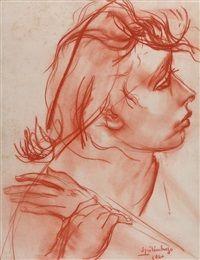 Retrato de joven by Lino Eneas Spilimbergo