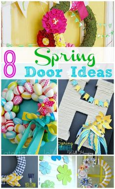8 Spring Door Ideas!! -- Tatertots and Jello for eBay #ad