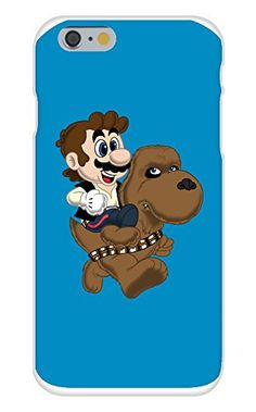 Apple iPhone 6 Custom Case White Plastic Snap On - 'Mans & Yewie' Movie & Game Parody Apple Iphone 6, Scooby Doo, Plastic, Games, Movies, Fictional Characters, Products, Art, Films