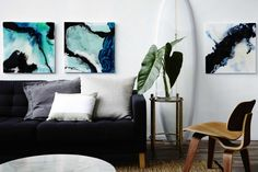 Surfboard in the living room? Why not! Head stylist from Temple & Webster shares what it's like to be a stylist.