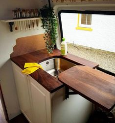 Outbound Living on Sink cover/mini t Outbound Living on Sink cover/mini t The post Outbound Living on Sink cover/mini t appeared first on Stauraum ideen. Truck Camper, Camper Life, School Bus Camper, School Bus House, Mini Camper, Camper Hacks, Sink Cover, Kombi Home, Van Home
