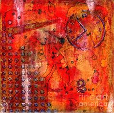 Dot Of Time Mixed Media by Bellesouth Studio - Dot Of Time Fine Art Prints and Posters for Sale