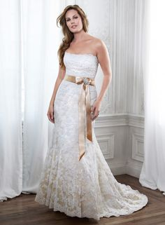 Karena Royale - by Maggie Sottero. This IS my dress without the sash. I need a bling belt. Dar