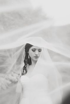 Gorgeous bridal portrait by Catherine Rhodes