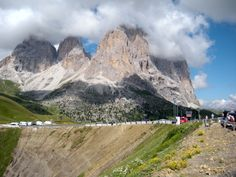 The summit of the Passo Sella