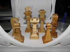 #Schachfiguren in #Miniatur