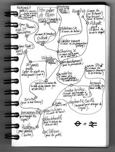 Mapping London underground by Julie Morel