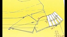 Pattern drafting a tailor Collar. In 9 steps.