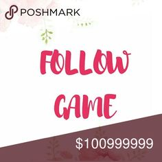 ‼️‼️‼️Read Rules‼️‼️‼️‼️ No Cheating!   1. Like this listing 2. Share this listing 3. Follow everyone who liked this listing 4. Tag your posh friends!!!  ⭐️⭐️⭐️⭐️⭐️⭐️⭐️⭐️⭐️⭐️⭐️ Other