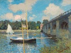 Impressionist Art Monet Claude monet, the bridge at