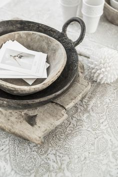 Rustic Indian homewares by Alabaster Trader. White on white. Photography and styling Paulina Arcklin.