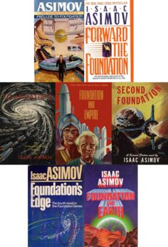 The Foundation Series, Isaac Asimov. There are seven volumes,Prelude to Foundation, Forward the Foundation, Foundation, Foundation and Empire, Second Foundation, Foundation's Edge, and Foundation and Earth.  The premise of the series is that mathematician Hari Seldon spent his life developing a branch of mathematics known as psychohistory, a concept of mathematical sociology. Using the laws of mass action, it can predict the future, but only on a large scale on a small scale it is prone to…