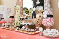 Project Nursery - Baby Shower Candy and Desert Bar