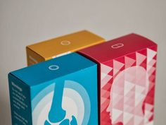 Graphically Enhanced Pill Packs : pharmaceutical packaging concept