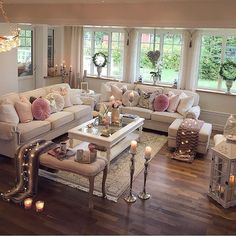 8 Ways to Style Scandinavian Interior Design at Home Chic Living Room, Cozy Living Rooms, Home Living Room, Interior Design Living Room, Living Room Furniture, Living Room Designs, Living Room Decor, Contemporary Home Decor, House Design