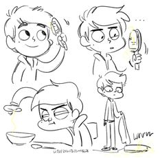 marco diaz, star vs the forces of evil, sketch