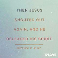 Matthew 27:50