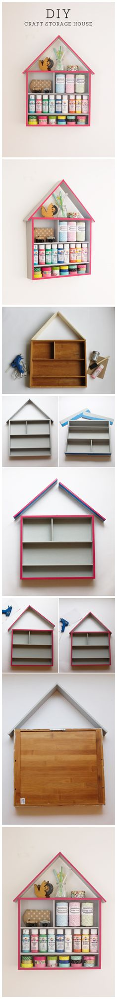 How To #DIY #Craft #Storage #House