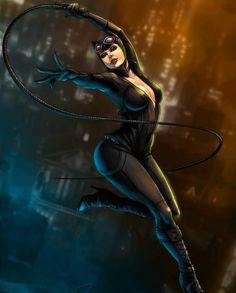 Catwoman From Batman Arkham City