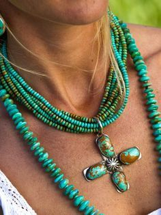 Pendant ! turquiose;) Love turquoise jewerly. Especially during summer.