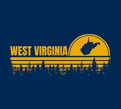 West Virginia University, State Map, Nature, Outdoor, Outdoors, Naturaleza, Outdoor Games, Nature Illustration, The Great Outdoors