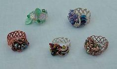 4 Strand Braided Ring Pattern at Sova-Enterprises.com