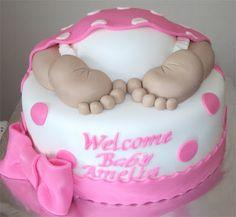 Delana's Cakes: Baby Bum Cake