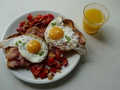 Give me Bacon, Eggs and Toast! ~ Tally Recipes