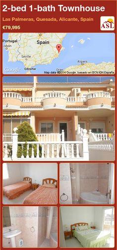 2-bed 1-bath Townhouse in Las Palmeras, Quesada, Alicante, Spain ►€79,995 #PropertyForSaleInSpain