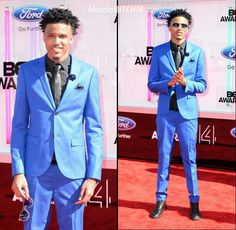 August Alsina BET Awards 2014 suit