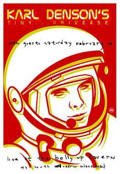 Scrojo, Karl Denson's Tiny Universe Poster, 2004