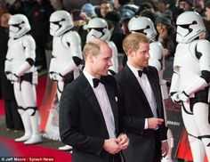 The furore came after the actor had suggested the Princes played Stormtroopers in Star Wars: The Last Jedi but were scrapped from the final edit. Royal Princess, Princess Of Wales, Princess Diana, Prince William And Harry, Prince Harry And Meghan, Kate And Harry, Royal Uk, John Boyega, Lady Diana