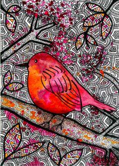 Bird - Luciana Pupo Art
