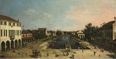 Mestre - Canaletto - piazza Barche - Mestre - Wikipedia