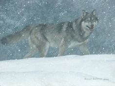 Robert Bateman Snowfall