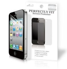 Acase Screen Protector Film Clear (Invisible) for iPhone 4 4S AT and Verizon and Sprint (3 Pack Front + 3 Bonus Back Films) by Acase, http://www.amazon.com/dp/B0040I5CME/ref=cm_sw_r_pi_dp_NXxfsb1R048T6