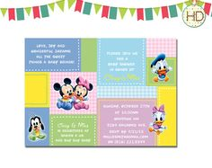 Exceptional Disney Baby Shower Invitation Disney Castle Baby By HDInvitations