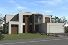 Artist impression of the new house...