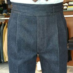 Gurkha pants by Denim fabric it makes you casual or formal look – Men's style, accessories, mens fashion trends 2020 Men Trousers, Mens Dress Pants, Men Dress, Men's Pants, Der Gentleman, Gentleman Style, Mens Fashion Shoes, Fashion Pants, Gents Kurta